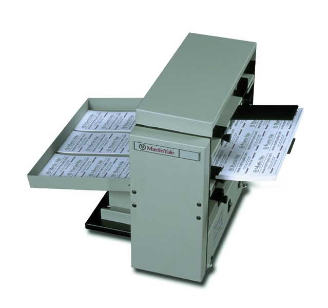 BCS412 Tabletop 12-Up Business Card Slitter w/Scoring and Perforating